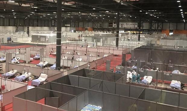 Coronavirus: Madrid planea reagrupar en Ifema a todo paciente con Covid-19