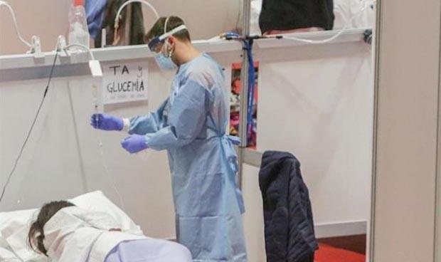 Coronavirus: Madrid renueva los contratos de sanitarios hasta el 31 de mayo