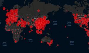 Coronavirus: mapa de casos, muertes y curados en todo el mundo