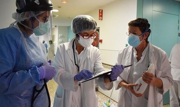 Coronavirus en personal sanitario: siete veces más riesgo de que sea grave