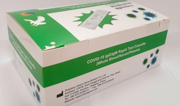 Coronavirus: Menarini dona 17.000 test de diagnóstico rápido
