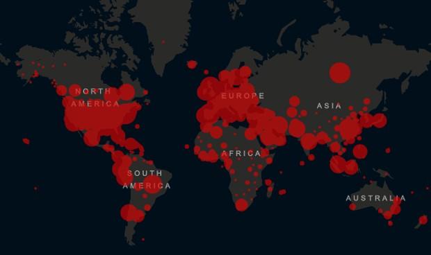 Coronavirus en el mundo: mapa internacional de casos y evolución por países