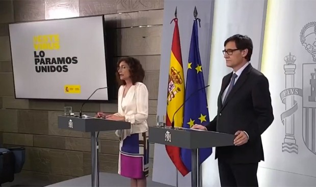 Coronavirus: orden para mover sanitarios de otras CCAA a zonas como Madrid