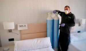 Coronavirus: Oximesa Nippon Gases medicaliza el Hotel Catalonia Gran Verdi