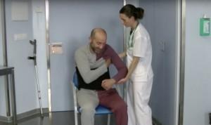 Coronavirus: Povisa publica vídeos para seguir rehabilitación desde casa
