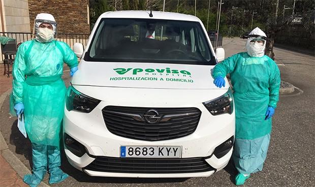 Coronavirus: Povisa realiza más de 1.000 pruebas de Covid-19 a domicilio