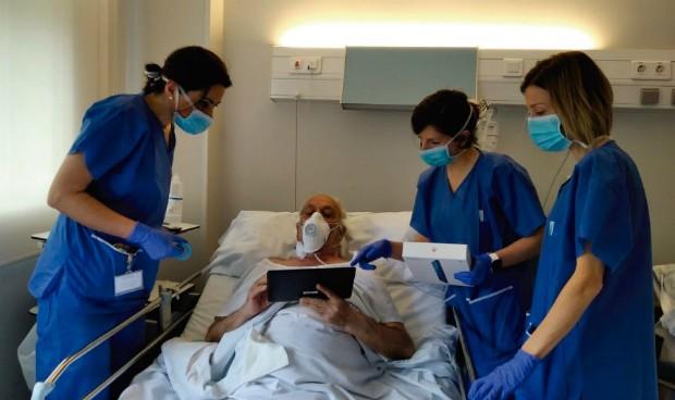 Coronavirus: Recoletas conecta con tablets a pacientes y familiares