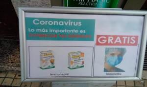 Coronavirus: ¿Regalar mascarillas por comprar productos de farmacia?