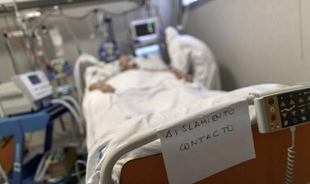 Covid-19: uno de cada 3 ingresados presenta dificultad respiratoria aguda