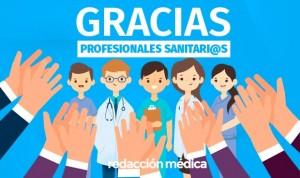 La sociedad envía cientos de agradecimientos a los profesionales sanitarios