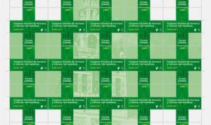 Correos emite un sello con motivo del Congreso Mundial de Farmacia de 2021