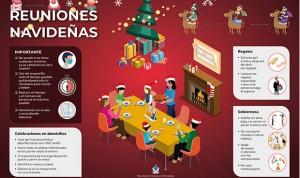 Covid-19: 4 consejos enfermeros para las reuniones navideñas en familia