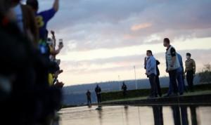 Covid-19: Bolsonaro recibe a cientos de seguidores pese a estar infectado