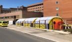Covid-19: Cataluña monta un hospital de campaña por los brotes en Lleida