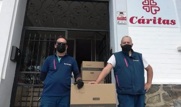 Covid-19: Cofares dona un millón y medio de mascarillas a diferentes ONGs