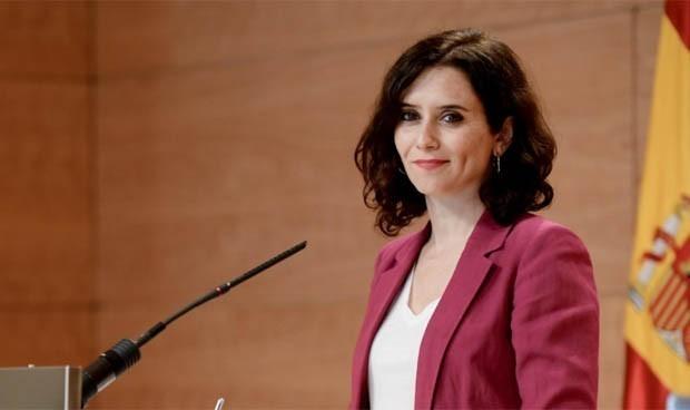 """Covid-19: Díaz Ayuso no descarta """"parones"""" o confinamientos en Madrid"""
