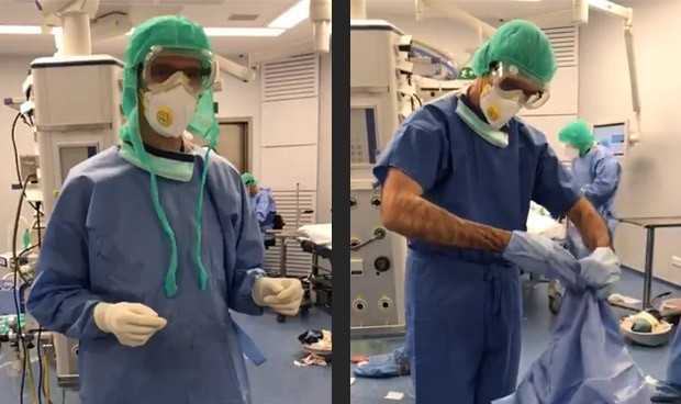 Covid-19 en sanitarios: 200 contagios en las dos últimas semanas