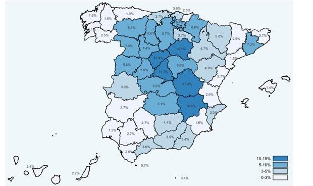 Covid-19: España marca un 5,2% de inmunidad y 14% de pérdida de anticuerpos