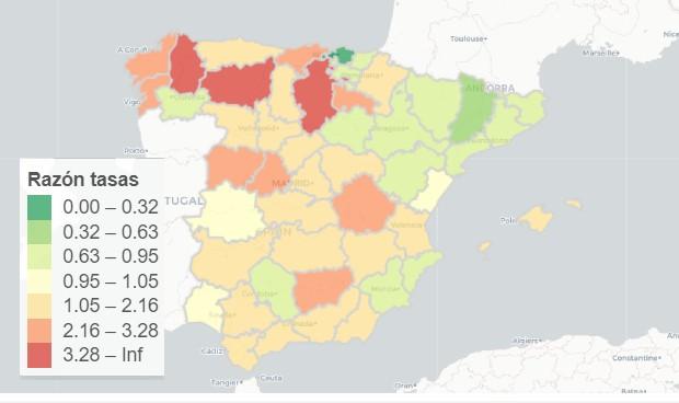 Covid-19 España rebrotes: incidencia al alza en el 68 por ciento del país
