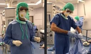 Covid: suspensión de empleo y sueldo a sanitarios que se nieguen a usar EPI