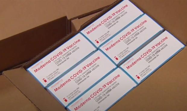 Covid-19 vacuna Moderna: España recibe las primeras dosis