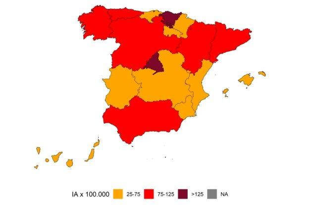 Covid España: 12 zonas alcanzan objetivo de incidencia... a 7 días