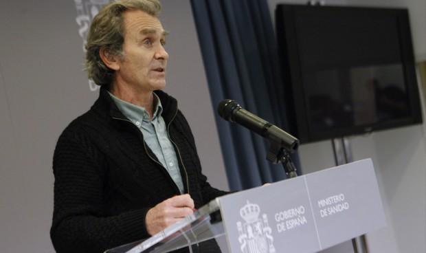 """España alcanzará el pico de ocupación en UCI """"la semana que viene"""""""