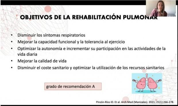 Papel capital de la fisioterapia pulmonar para pacientes Covid con secuelas