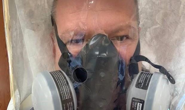 Covid-19: intubados, foco de máximo riesgo de contagio a sanitarios