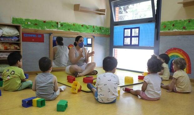 Covid en niños: la transmisión en guarderías no tiene