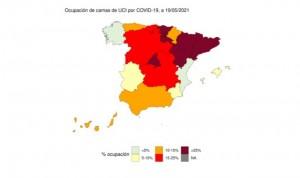 Covid| Cara y cruz de la ocupación UCI: del 1% de Castellón al 42 en Girona