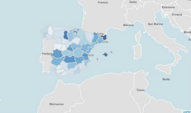 Covid | La tercera ola navideña toma forma: 3 provincias rozan la IA de 400