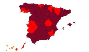 Covid: las UCI de 2 provincias superan el 80% de ocupación; 6 llegan al 50%