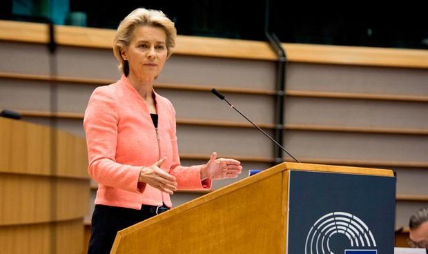 Covid: Von der Leyen pide más competencias sanitarias para la Unión Europea