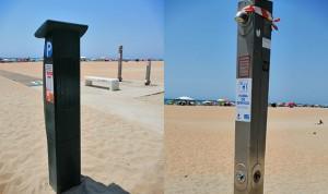 """""""Las duchas de la playa tienen Covid-19, pero el parquímetro está tratado"""""""