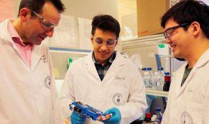 Crean una impresora 3D capaz de curar heridas profundas en dos minutos