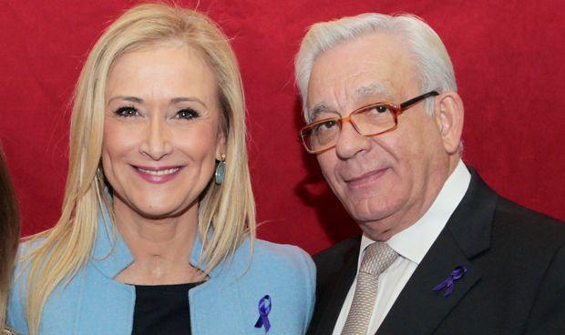 Cristina Cifuentes y Jesús Sánchez Martos