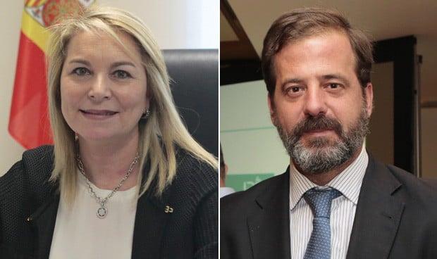 Cristina Contel y Carlos Rus