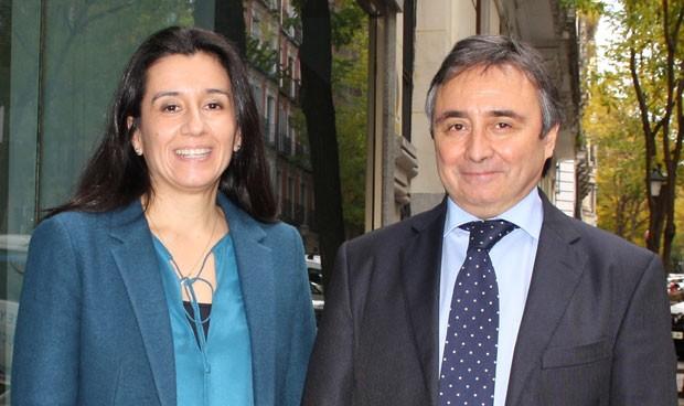 Cristina García y Jesús Rioja