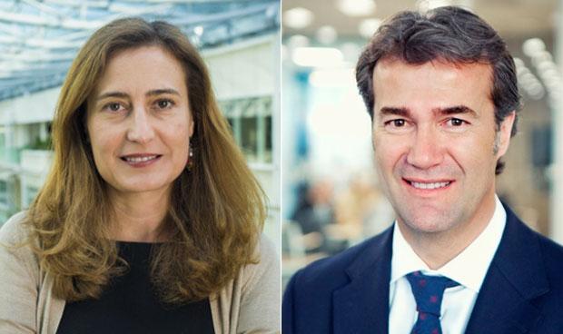 Cristina Henríquez de Luna y Eduardo Recoder