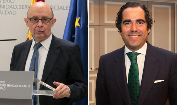 Cristóbal Montoro y Antonio Sánchez