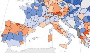 Cuatro CCAA están por debajo de la media europea en médicos por habitantes