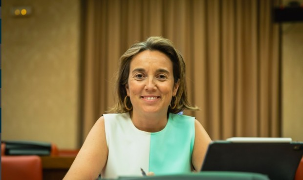 Cuca Gamarra se estrena como portavoz en el Congreso