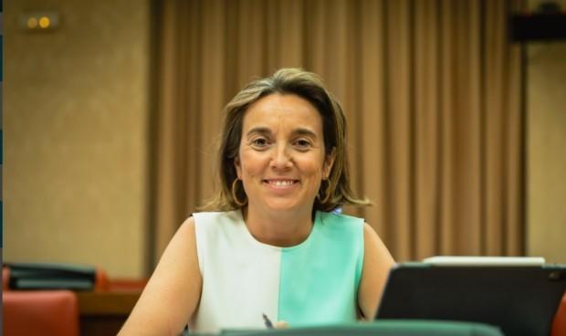 Cuca Gamarra ya es oficialmente portavoz del PP en el Congreso