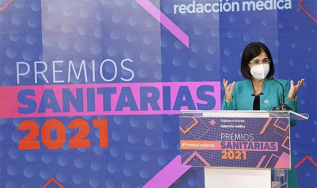 """Darias, en los Premios Sanitarias: """"Mujeres de la sanidad, os necesitamos"""""""