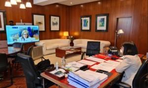 Darias traslada a Kyriakides su apoyo a una Unión Europea para la Salud