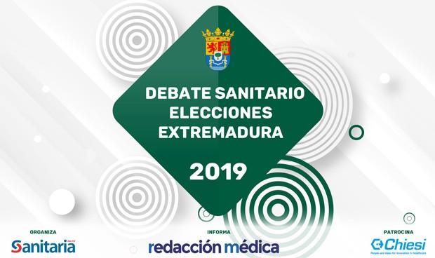 Debate electoral 26-M Extremadura y Sanidad: en directo a las 16 horas