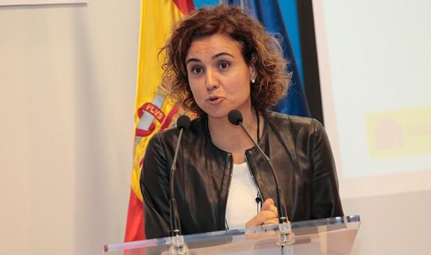 """Debut de Montserrat en el Senado: """"La universalidad era un mito hasta 2012"""""""