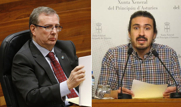 Del Busto y Podemos juegan al ratón y al gato ante la Fiscalía
