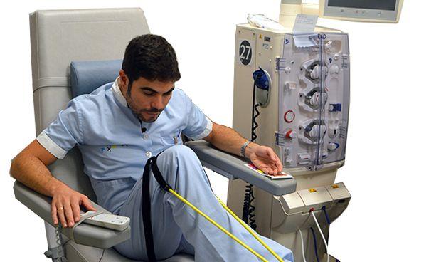 Dénia aplica la gimnasia psicocreativa en el servicio de hemodiálisis